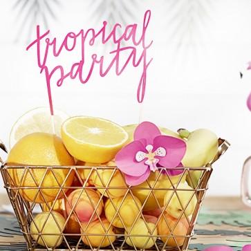 Cake topper fiesta tropical