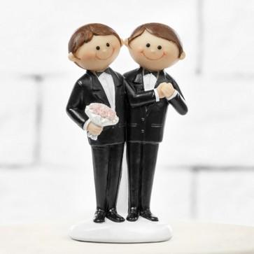 Figura gay para pastel boda
