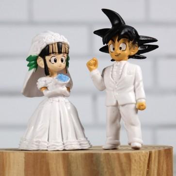 Son Goku y Chichi novios