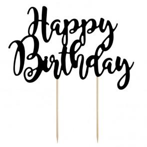 Decoración de pastel de cumpleaños